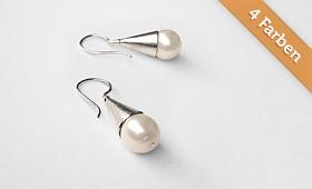 Ohrhänger –  Perlen in 4 Farben