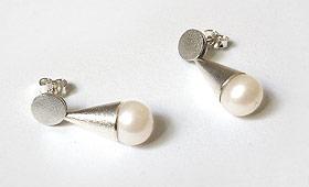 Ohrstecker – Perlen in 4 Farben