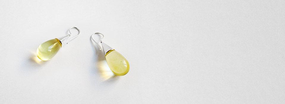 Ohrhänger – Lemon Citrin