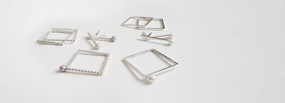 Ensemble – Quadratischer Ring – Perldraht