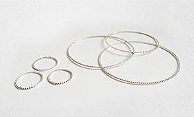 Ensemble -Armreifen&Ringe- Profilmaterial